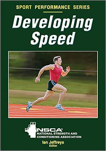 Developing Speed (NSCA Sport Performance)