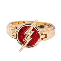 XCOSER The Flash Ring Exquisite Cosplay Accessories Gift Box Alloy