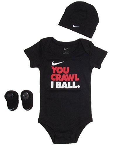 Nike Baby Clothes You Crawl I Ball 3 Piece Set 0 6m