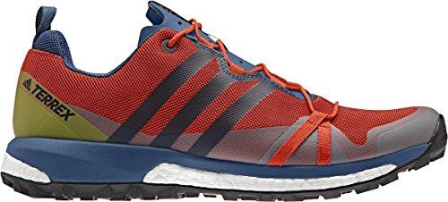 Adidas Terrex Agravic, Scarpe da Escursionismo Uomo, Arancione (Energi/Azubas/Negbas), 44 EU