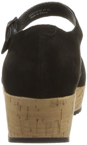 Camper Laika 21936-003 - Sandalias de vestir Mujer Negro (Schwarz (Black))