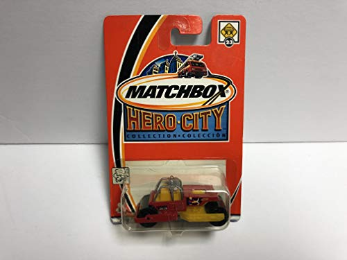 Road Roll Paver 2002 Matchbox Hero City 1/64 Scale diecast car No 23