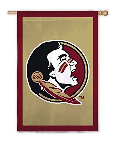 Florida State Seminoles Official NCAA 28 inch x 44 inch Applique House ()