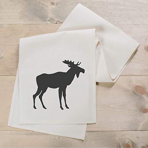 Moose Silouhette Table Runner, Handmade in the USA, home decor, present, housewarming gift, holiday, seasonal decor, tablewear