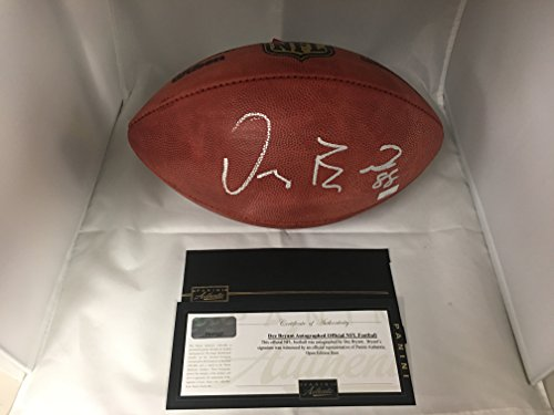 Dez Bryant Autographed Signed Dallas Cowboys Authentic NFL Football Panini COA & Hologram