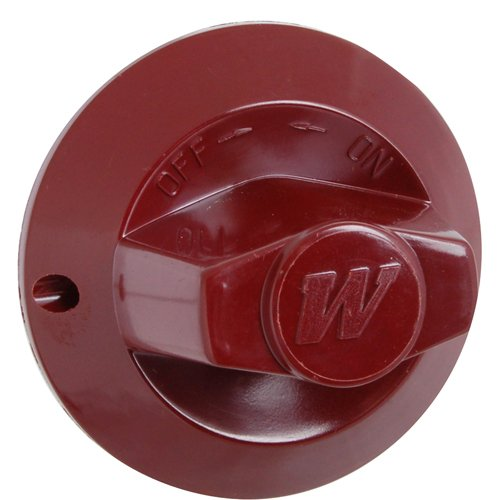 WOLF 719259 BURNER VALVE KNOB (RED) - For Commercial Wolf Appliances ()