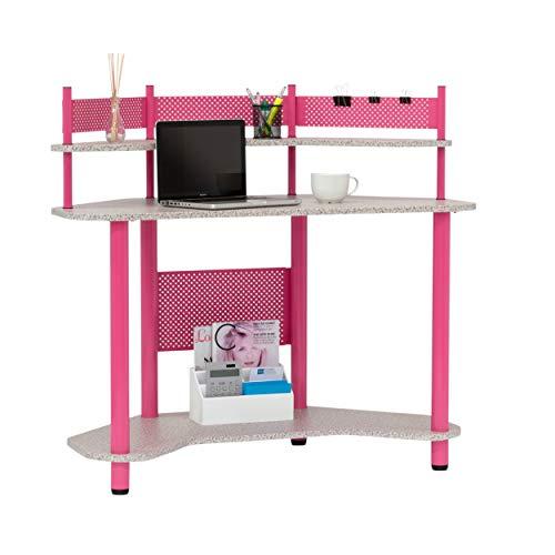 - Calico Designs 55122 Study Corner Desk, Pink