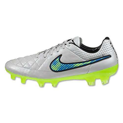 846d3a62be84 Nike Tiempo Legend V FG Football Boots White / Solar / Black rrp£140:  Amazon.co.uk: Shoes & Bags