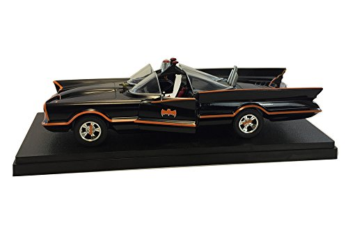 1:24 Scale 1966 Classic TV Series Batmobile Diecast Model Car (1966 Batmobile)