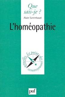 L'homéopathie, Sarembaud, Alain
