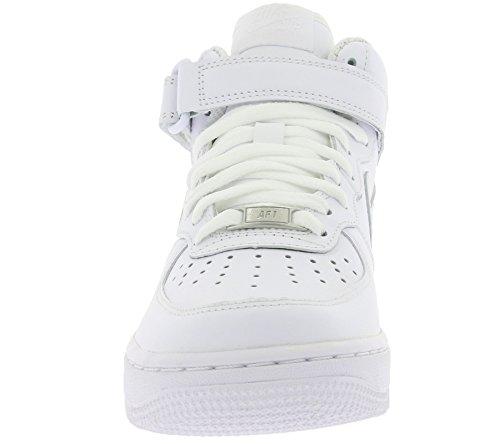 Le '07 Air Wmns 1 Bianco Donna Mid Scarpe Sportive Nike Force qfYw77X