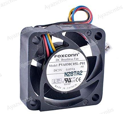 Ayazscmbs Compatible para PVA030C05L-P01 3010 3cm 30mm Ventilador ...