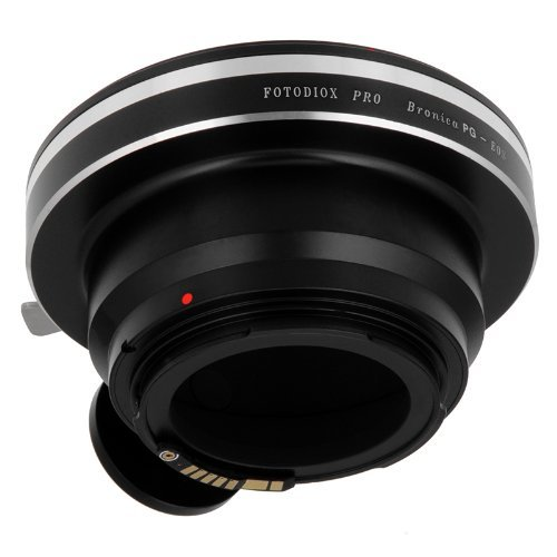 Fotodiox Pro Lens Mount Adapter - Bronica GS-1 (PG) Mount SLR Lenses to Canon EOS (EF, EF-S) Mount SLR Camera Body, with Focus Confirmation Chip by Fotodiox