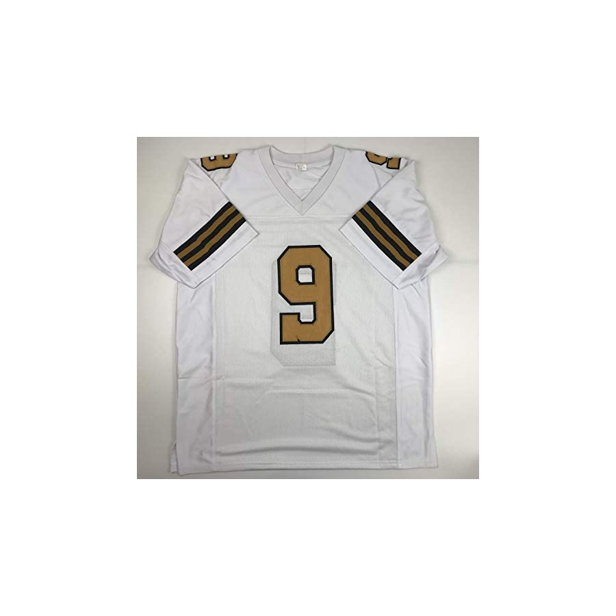 Unsigned Drew Brees New Orleans Color Rush Custom Stitched Football Jersey Size Men's XL New No Brands/Logos