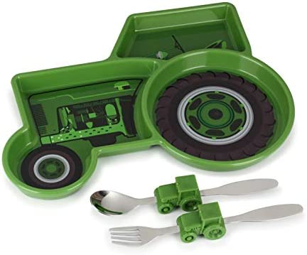 KidsFunwares Time Meal Set Tractor product image