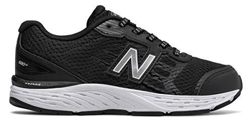 [New Balance(ニューバランス)] 靴?シューズ レディースランニング 680v5 Black with White ブラック ホワイト 13.5 (30.5cm)