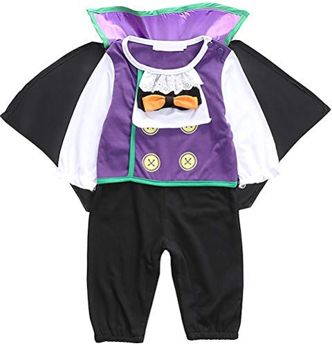 FANCYINN Infant Boy's Count Cutie Vampire Costume Toddler Halloween Animal Cosplay Outfits 6-9M]()