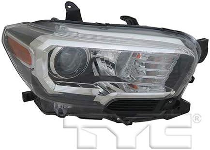 For 2016-2017 Toyota Tacoma Base//SR Headlight Head Lamp Passenger Side RH