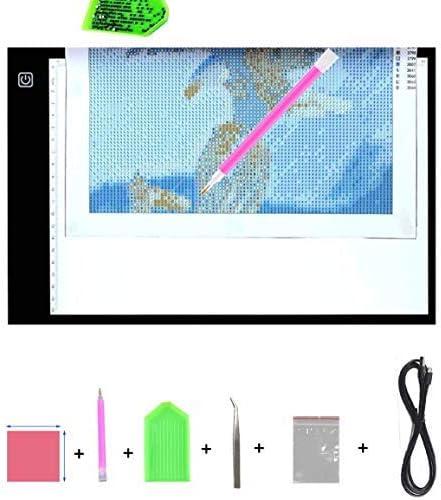 5D Diamond Painting Light Pad Board Halterung Basis Werkzeug Herstellung DIY Kit