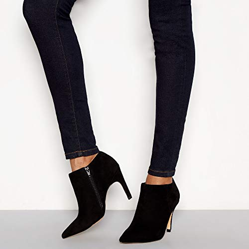Stiletto 'Janana' Suede Boots by Heel Black Jasper J Conran Ankle Womens 7YX0q