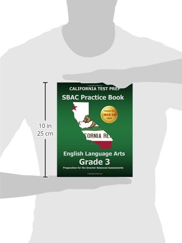 Amazon.com: CALIFORNIA TEST PREP SBAC Practice Book English ...