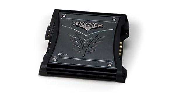 amazon com kicker 08zx2004 4x50 watt 4 channel amplifier caramazon com kicker 08zx2004 4x50 watt 4 channel amplifier car electronics