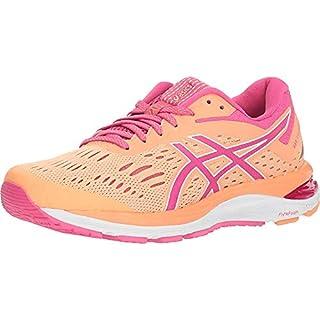 ASICS Gel-Cumulus 20 Women's Running Shoes, Mojave/Fuschia Purple, 7.5 M US