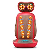 DJF Neck Massager Massage Chair Body Massage Pillow Kneading Push...