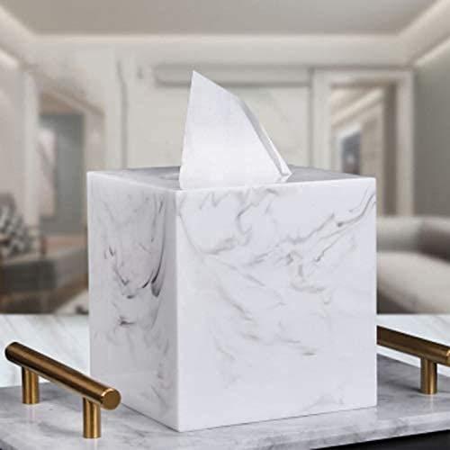 MGE Nordic Minimalistische Moderne Tissue Box Creatieve Woonkamer Eettafel Huishoudelijke Witte Roll Papier Buis…