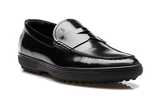 tods-mens-patent-leather-moccasins-loafer-shoes-black