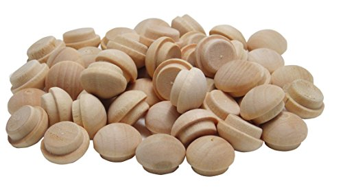wood buttons plugs - 1