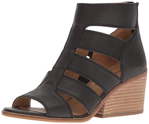 Lucky Women's LK-Sortia Wedge Sandal, Black, 6.5 M US by Lucky Brand