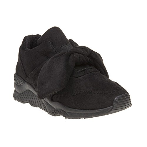 Donna Nero Black 47563 XTI Sneaker SqcRWzBB
