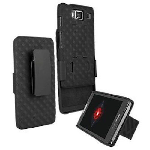 - VZW OEM Hard Shell Case w/ Holster Combo for Motorola DROID RAZR HD XT926 (NOT FOR RAZR MAXX HD XT926M)
