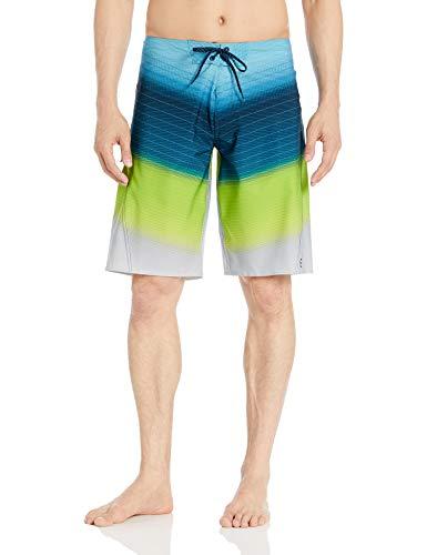 Billabong Men's Fluid Pro Boardshorts Neo Lime 32