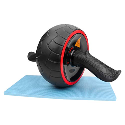 AUTUWT Ab Roller Wheel Fitness Equipment Core Training Automatic Springback Ab Workout Machine Home Gym Equipment