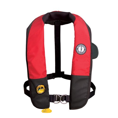 (Mustang Deluxe Auto Hydrostatic Inflatable PFD with Harness:)