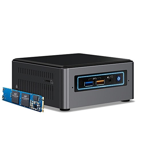 Intel NUC 7 Mainstream Kit (NUC7i5BNHX1) - Core i5, 16GB Optane Memory, Add't Components Needed
