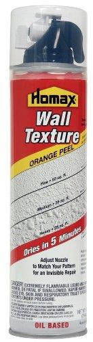 Aerosol Wall Texture Orange Peel Oil Based 10 - Homax Orange Peel