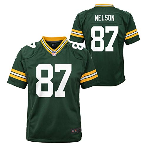 Jordy Nelson Green Bay Packers Youth Game Jersey (Green) L (Packer Jersey Youth)
