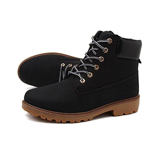 o ayudar botas brit¨¢nicas black Z alto retro e Oto hembra se amp;HX invierno oras Martin antideslizante terciopelo m¨¢s para botas 68qE8xzwS