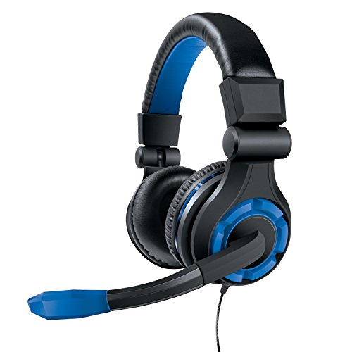41WCx ShLIL - dreamGEAR GRX-340 Advanced Wired Gaming Headset for Xbox One, Playstation 4, Xbox 360, Wii U, Smartphones, Tablets and Other Audio Devices - PlayStation 4 (Green)