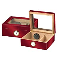 Quality Importers Glasstop Humidor