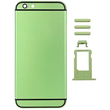 Carcasa trasera de Metal para iPhone 6 Plus 13,97 cm: Amazon ...
