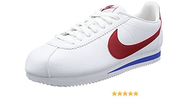 best website 7583c 2d39f Nike Mens Classic Cortez Leather Fashion Sneakers (9.5)