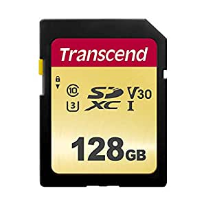 Amazon.com: Transcend TS128GSDC500S-E 128 GB UHS-I U3 SD ...