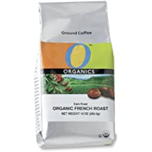O Organics Dark French Roast Ground Coffee, 10-Ounce Bags (Pack of 3)
