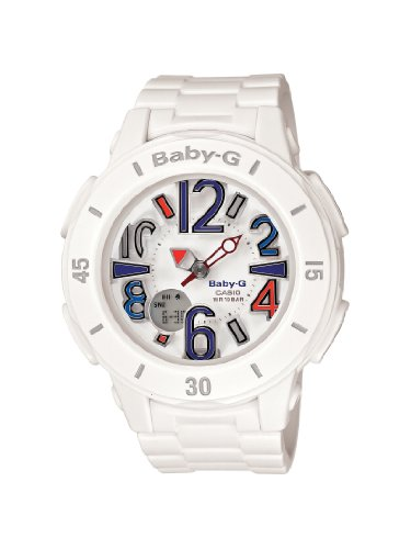 Casio Women's BGA170-7B2 Baby-G Shock Resistant White for sale  Delivered anywhere in Canada