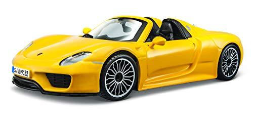 (Bburago 1:24 Scale Porsche 918 Spyder Diecast Vehicle (Colors May)