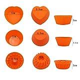 Nonstick BPA Free 41 Pieces Silicone Bakeware Set